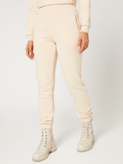 Guido Maria Kretschmer Collection Pants 'Silene' in Beige, View model