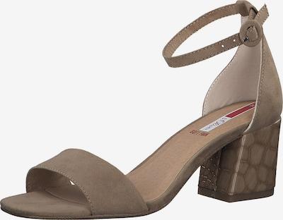 Sandale cu baretă s.Oliver pe maro deschis, Vizualizare produs