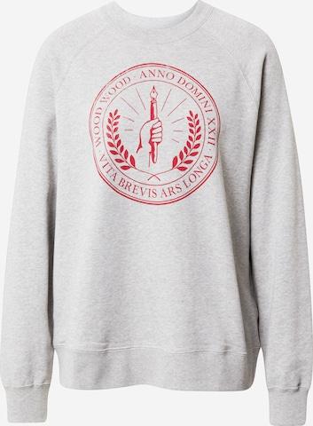 WOOD WOOD Sweatshirt 'Hope Seal' in Grey