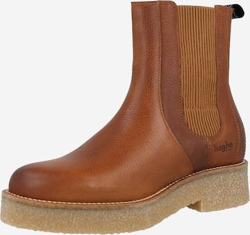 HUB Chelsea Boots 'Faro' i brun