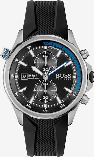 BOSS Casual Analógové hodinky 'GLOBETROTTER' - čierna / strieborná, Produkt
