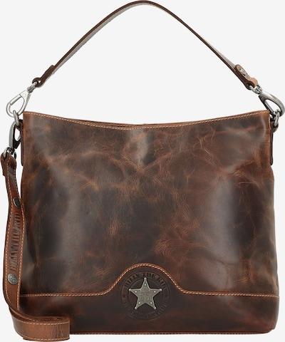 Billy the kid Handtasche in braun, Produktansicht