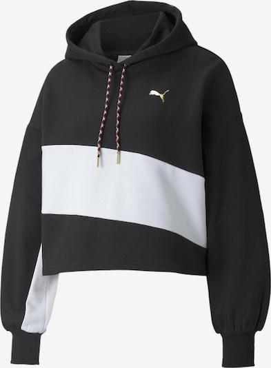 PUMA Sweatshirt in Gold / Black / White, Item view
