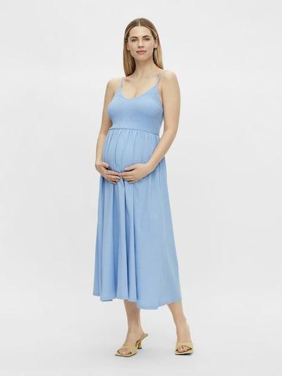 MAMALICIOUS Kleid 'Tily' in hellblau, Modelansicht