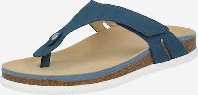 Flip-flops 'SYLT' ARA pe albastru închis, Vizualizare produs
