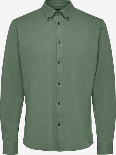 SELECTED HOMME Hemd in dunkelgrün, Produktansicht