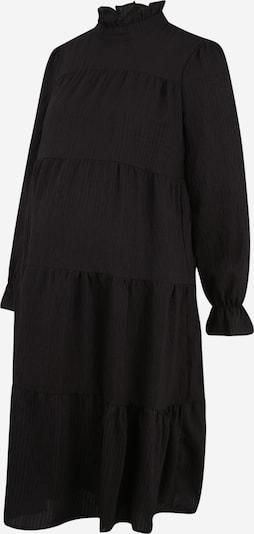 Pieces Maternity Jurk 'REY' in de kleur Zwart, Productweergave
