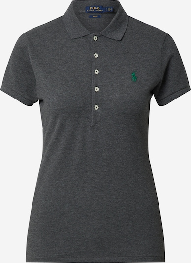 POLO RALPH LAUREN Tričko 'JULIE' - tmavě šedá / trávově zelená, Produkt