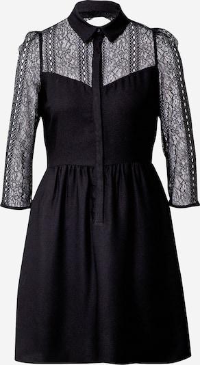 NAF NAF Рокля тип риза в черно, Преглед на продукта