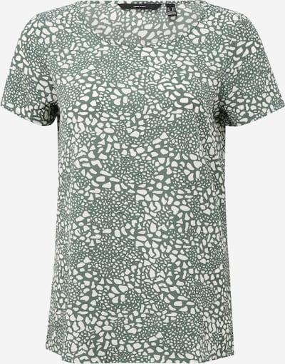 Vero Moda Tall T-shirt 'SAGA' en kaki / blanc, Vue avec produit
