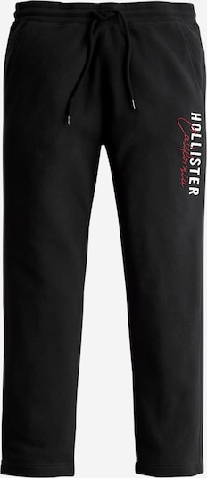 HOLLISTER Hlače 'MODERN' | rdeča / črna / bela barva, Prikaz izdelka