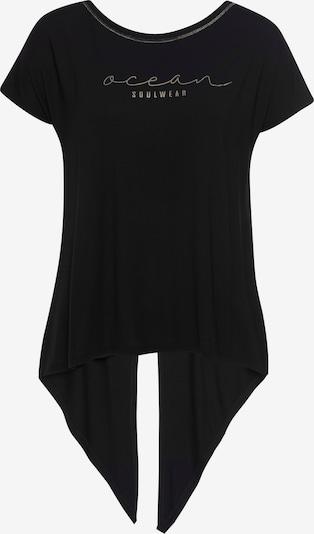 OCEAN SPORTSWEAR Yogashirt in schwarz, Produktansicht