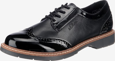 s.Oliver Zapatos con cordón en negro, Vista del producto