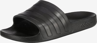 ADIDAS PERFORMANCE Zapatos para playa y agua 'Adilette Aqua' en negro, Vista del producto