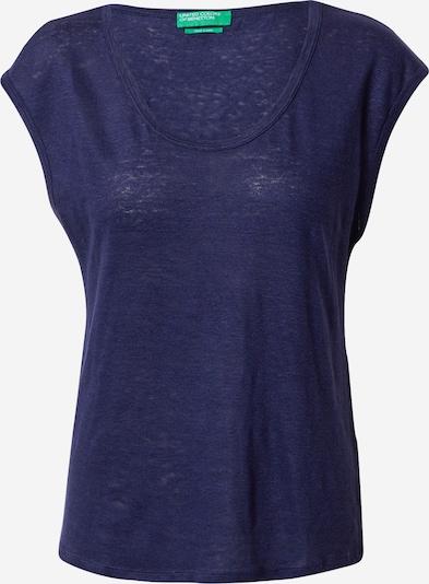 UNITED COLORS OF BENETTON T-shirt en bleu marine: Vue de face