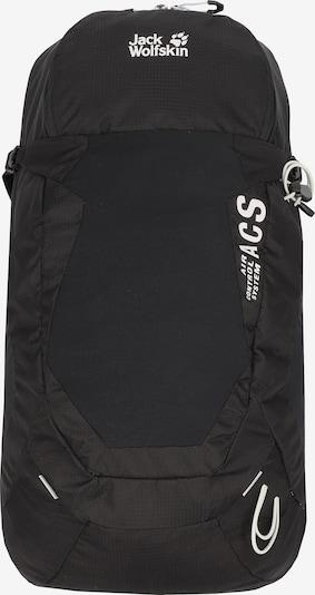 JACK WOLFSKIN Rucksack in schwarz / weiß, Produktansicht