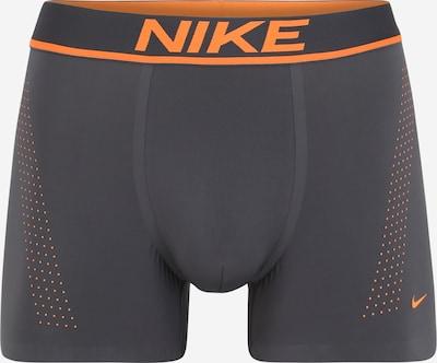 Sportinės trumpikės iš NIKE , spalva - tamsiai pilka / oranžinė, Prekių apžvalga