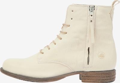 Ghete cu șireturi DreiMaster Vintage pe alb, Vizualizare produs