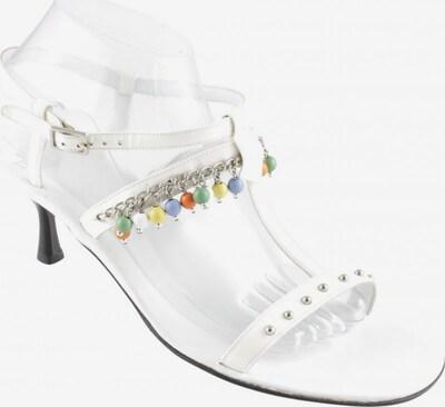 Truman´s Riemchen-Sandaletten in 39,5 in silber / weiß, Produktansicht