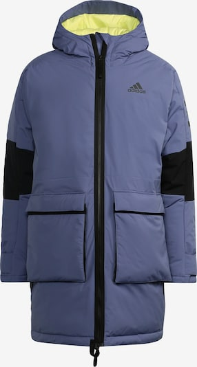 ADIDAS PERFORMANCE Outdoorjas in de kleur Lila / Zwart, Productweergave
