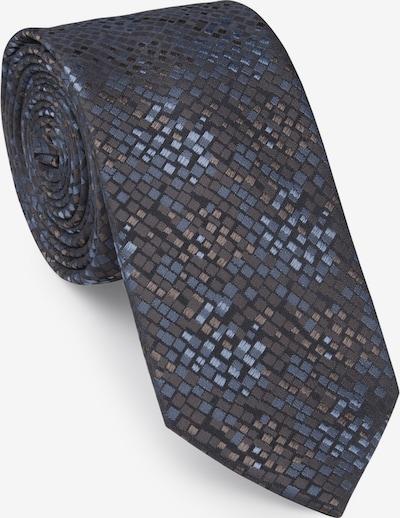 UNA Germany Krawatte in dunkelgrau / mischfarben, Produktansicht