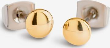 Boccia Titanium Earrings in Gold