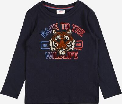 s.Oliver Shirt in blau / dunkelblau / rot / weiß, Produktansicht