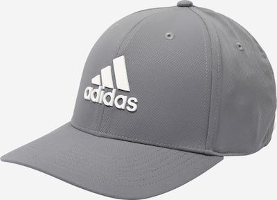 Cappello da baseball sportivo adidas Golf di colore grigio / bianco, Visualizzazione prodotti