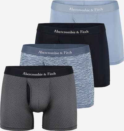 Abercrombie & Fitch Boxerky - námornícka modrá / svetlomodrá / tmavosivá / čierna / biela, Produkt