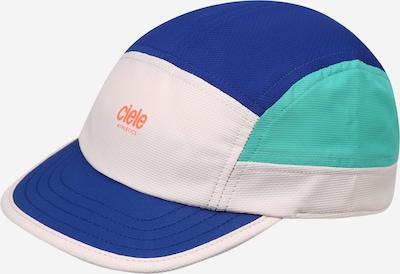 CIELE ATHLETICS Sportcap in dunkelblau / jade / orange / weiß, Produktansicht