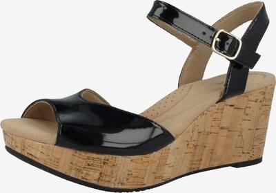 CLARKS Sandale 'Annadel Mystic' in schwarz, Produktansicht