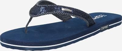 ESPRIT Séparateur d'orteils en bleu marine / gris foncé / blanc, Vue avec produit