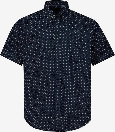 JP1880 Overhemd in de kleur Navy / Wit, Productweergave