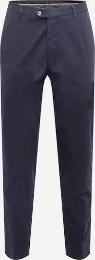 Oscar Jacobson Pantalon chino 'DENZ' en bleu marine, Vue avec produit
