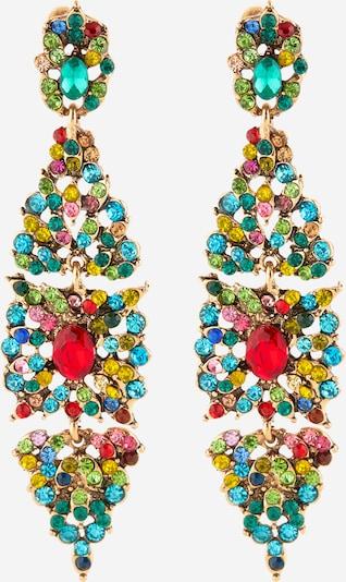 ONLY Boucles d'oreilles 'Jennifer' en or / mélange de couleurs, Vue avec produit