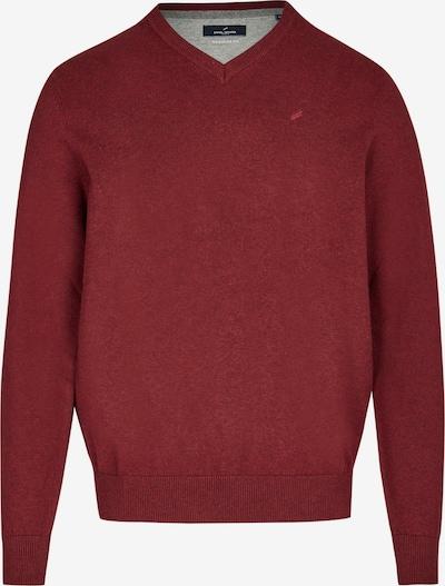 DANIEL HECHTER Pullover in dunkelrot, Produktansicht