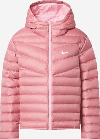 Nike Sportswear Veste mi-saison en rose / blanc, Vue avec produit