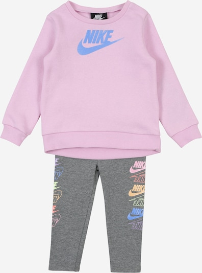 Nike Sportswear Jogginganzug 'FUTURA STACK' in dunkelgrau / mauve / mischfarben, Produktansicht