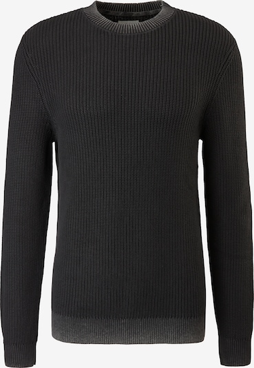 Q/S by s.Oliver Pullover in schwarz, Produktansicht