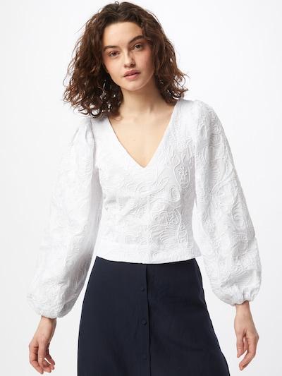 Samsoe Samsoe Blouse 'Anai' in White, View model