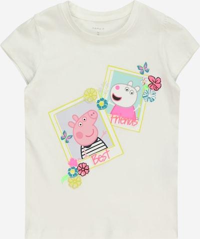 vegyes színek / fehér NAME IT Póló 'Megan', Termék nézet