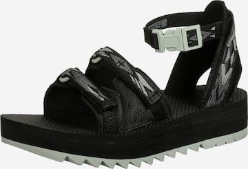 TEVA Hiking Sandals 'Ceres' in Black