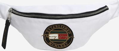 Borsetă TOMMY HILFIGER pe auriu / verde pin / roșu / negru / alb, Vizualizare produs