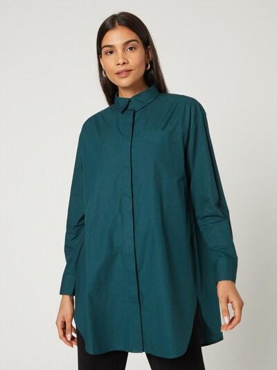 Guido Maria Kretschmer Collection Bluse 'Melinda' in grün, Modelansicht