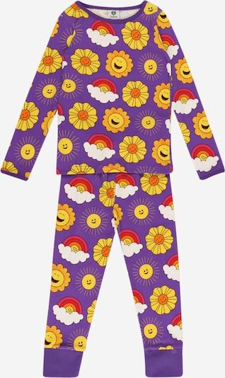 Småfolk Schlafanzug in lila / mischfarben, Produktansicht