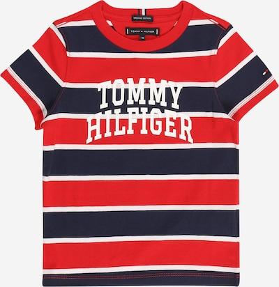 Tricou TOMMY HILFIGER pe albastru / roșu / alb, Vizualizare produs