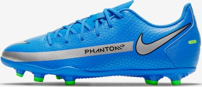 NIKE Fußballschuh in blau / silbergrau, Produktansicht