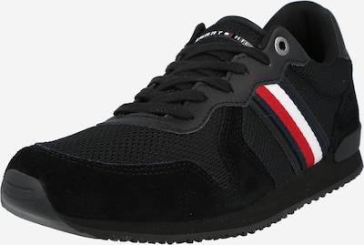 piros / fekete / fehér TOMMY HILFIGER Rövid szárú edzőcipők, Termék nézet