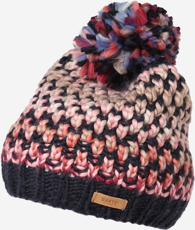 Barts Mütze 'Nicole' in marine / orange / rosa, Produktansicht