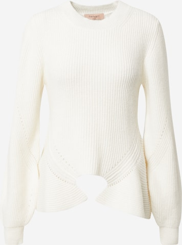 Twinset Pullover in Weiß